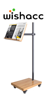 floor stand for book reading
