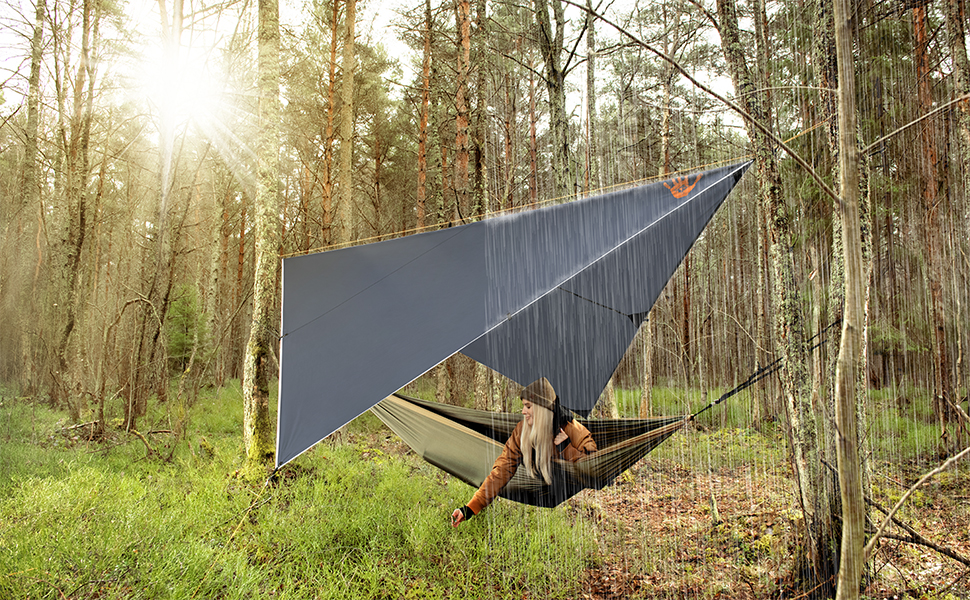 Heavy duty shelter from the elements in an ultralight package