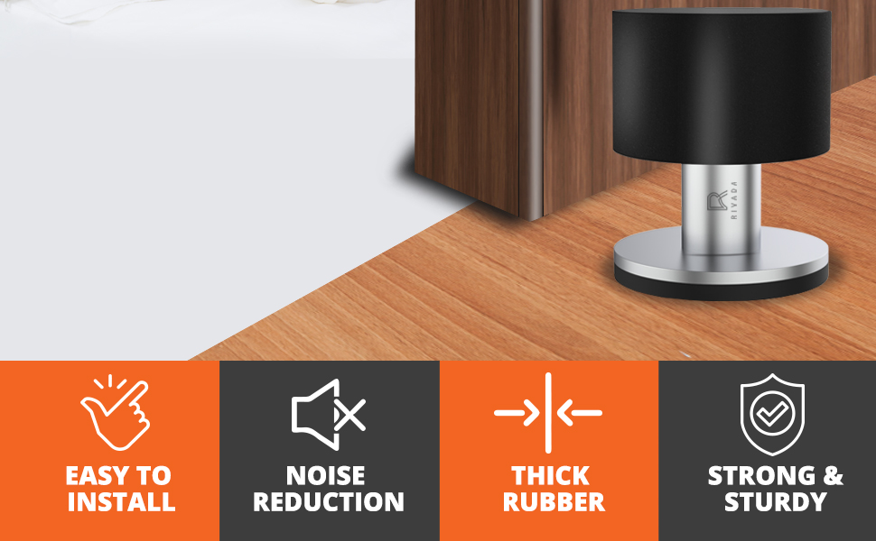 Eenvoudig te installeren, ruisonderdrukking, dik rubber en sterk en stevig