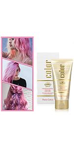 Unisex Hair Dye Wax