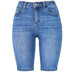 bermuda shorts for women,denim shorts for women,denim bermuda shorts