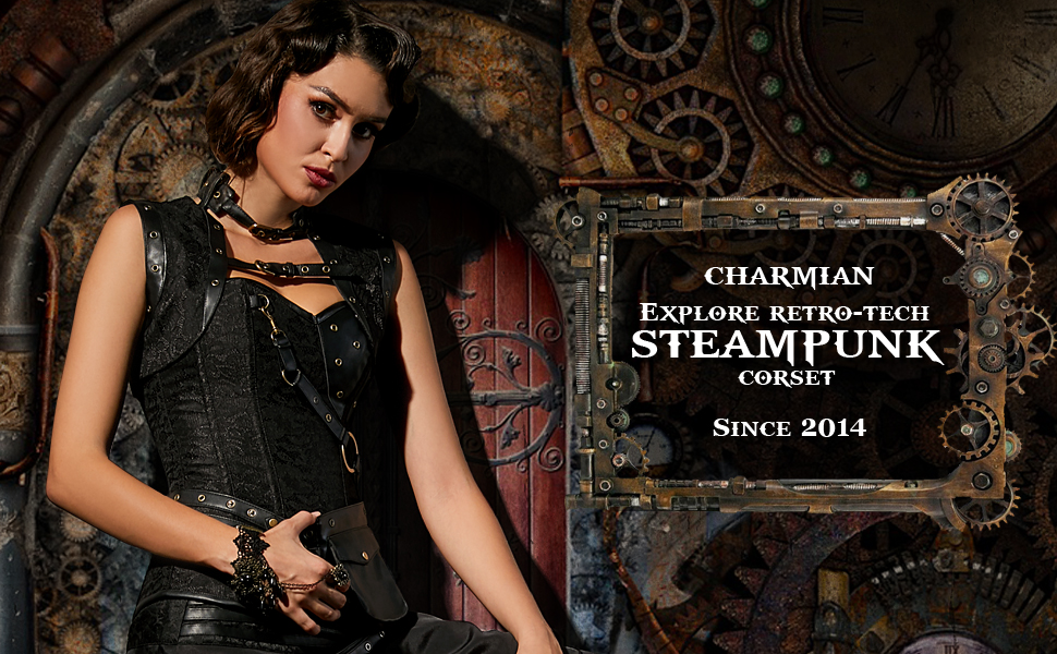 Charmian Steampunk Corset