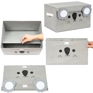 Showing how to set up the katabird koala toy box