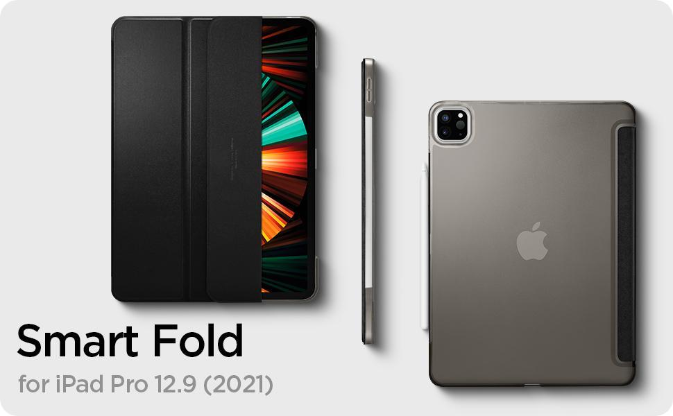 جراب Spigen Smart Fold لجهاز iPad Pro مقاس 12.9 بوصة (2021)