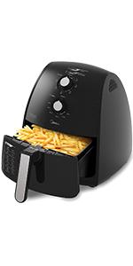 Fritadeira Air Fryer Sem Óleo Midea