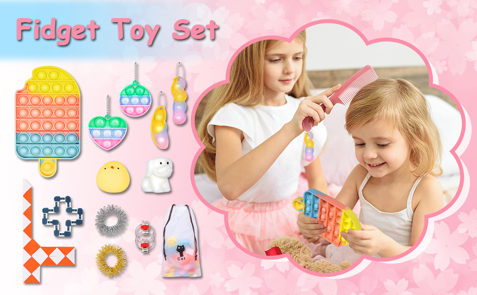 Ice Cream Fidget Toys Set