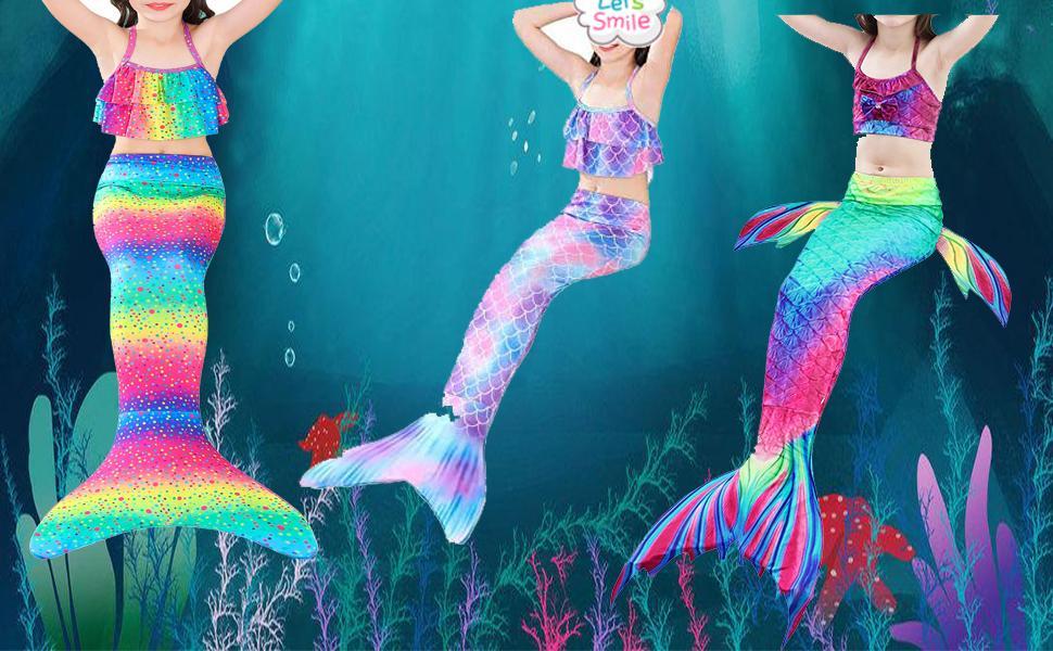 little girls merimadi swimwear