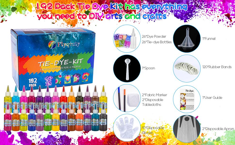 kit de teñido anudado