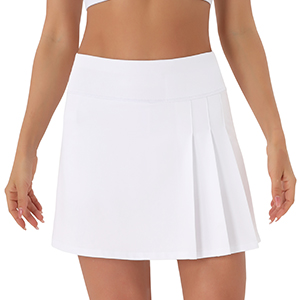 Unique Side Pleated Design These skirts are perfect for fashion sports casual wear  school skirts