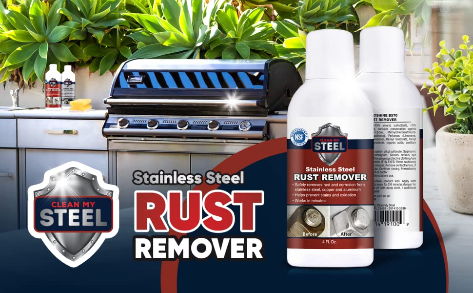 BBQ Remove Rust Kit