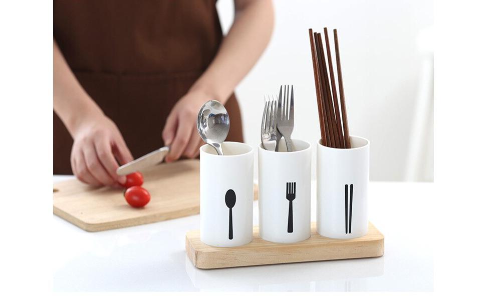 Spoon Knife Chopstick Holder