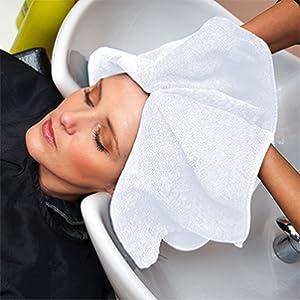 salon towel white