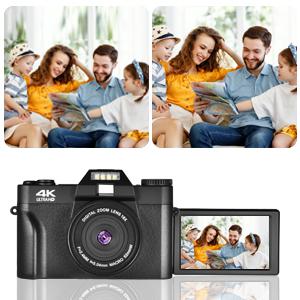Full HD 2.7K Vlogging Camera