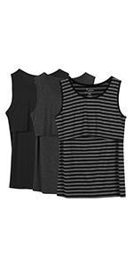 maternity nursing breastfeeding pregnant pregnancy clothes top shirts tunic cami tank