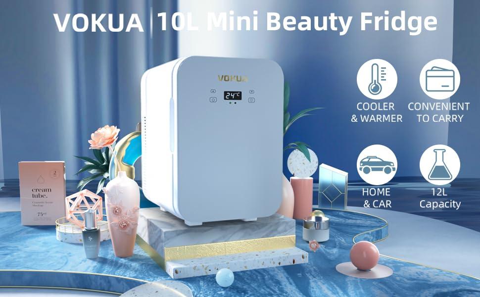VOKUA  Portable Mini Refrigerator
