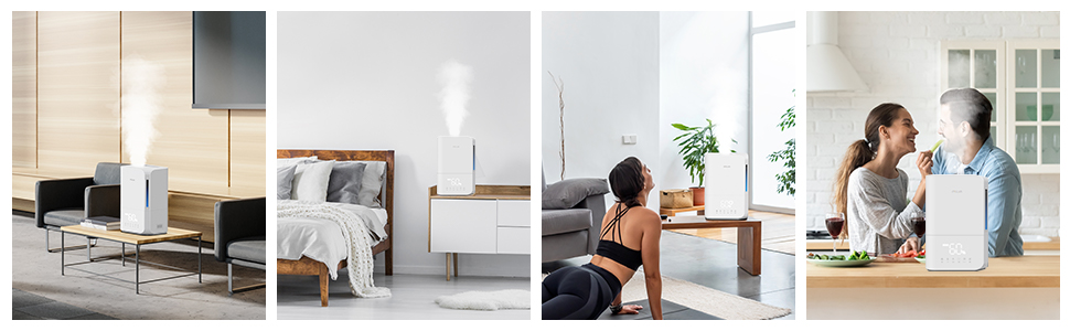 MiLin 4L Humidifier with LED