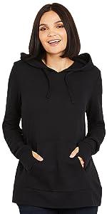 Nursing Long Sleeve Hooded Fleece Sweatshirt