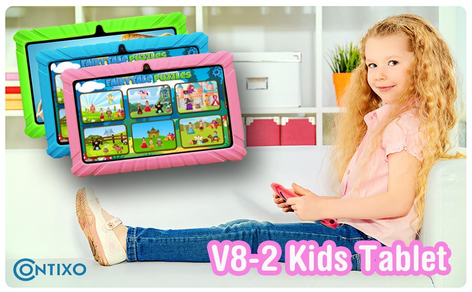 V8-2 Tablet Pink