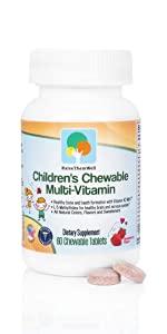 Great Tasting Chewable Kids Vitamins - Multivitamin for Kids