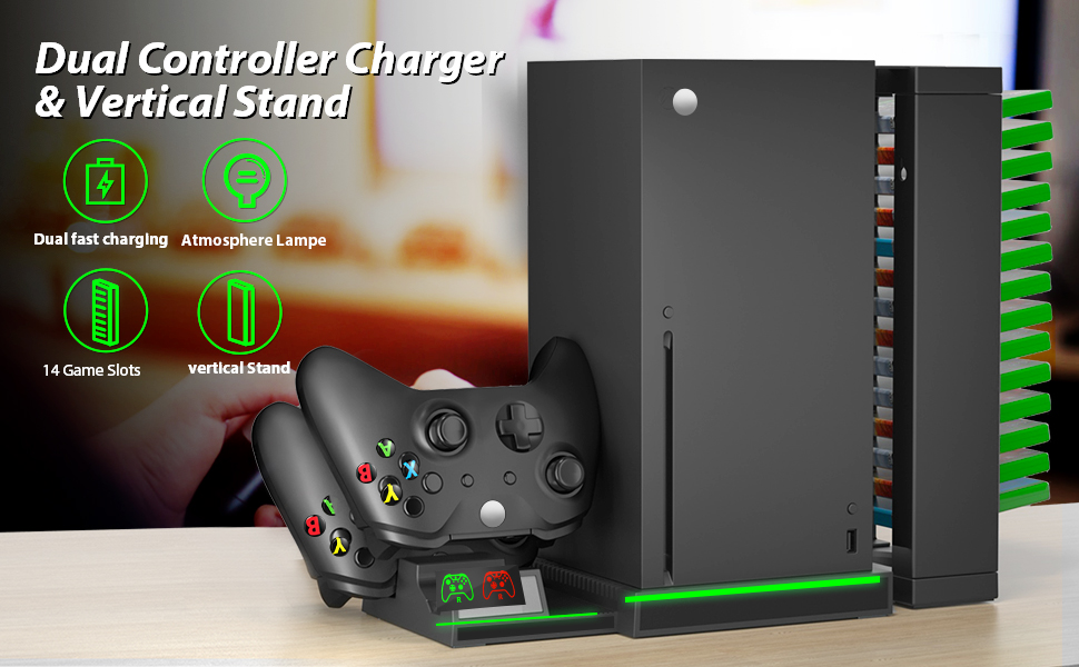 XBOX Series X dual controller charger stand