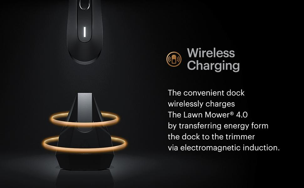 manscaped lawn mower 4.0 mens wireless charging trimmer