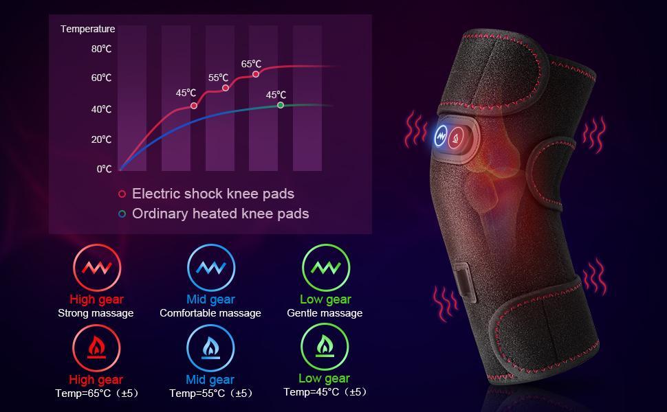 heated knee massager