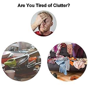 magnet clutter