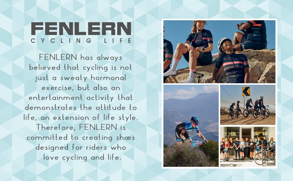 Fenlern Mountain Bike Cycling Shoes women