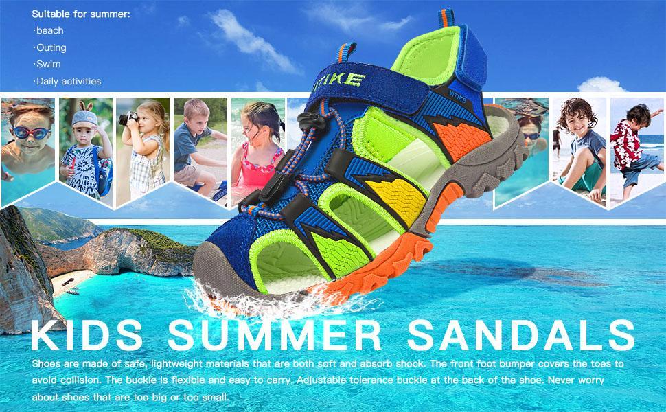 kids summer sandals beach sandals