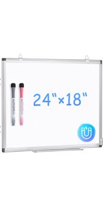 """ARCOBIS Magnetic Slim White Board for Wall 24"""" x 18"""""""