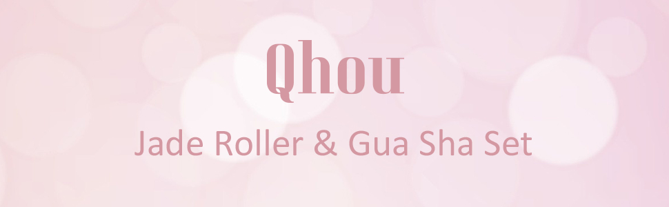 Qhou Jade Roller and Gua Sha Set