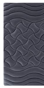 zone mattress pad -grey