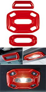 Reading Light Panel Cover Decor Trim for Jeep Wrangler JL JLU JT