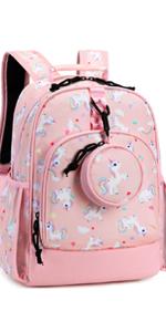 Choco Mohca 13inch Unicorn Backpack Set