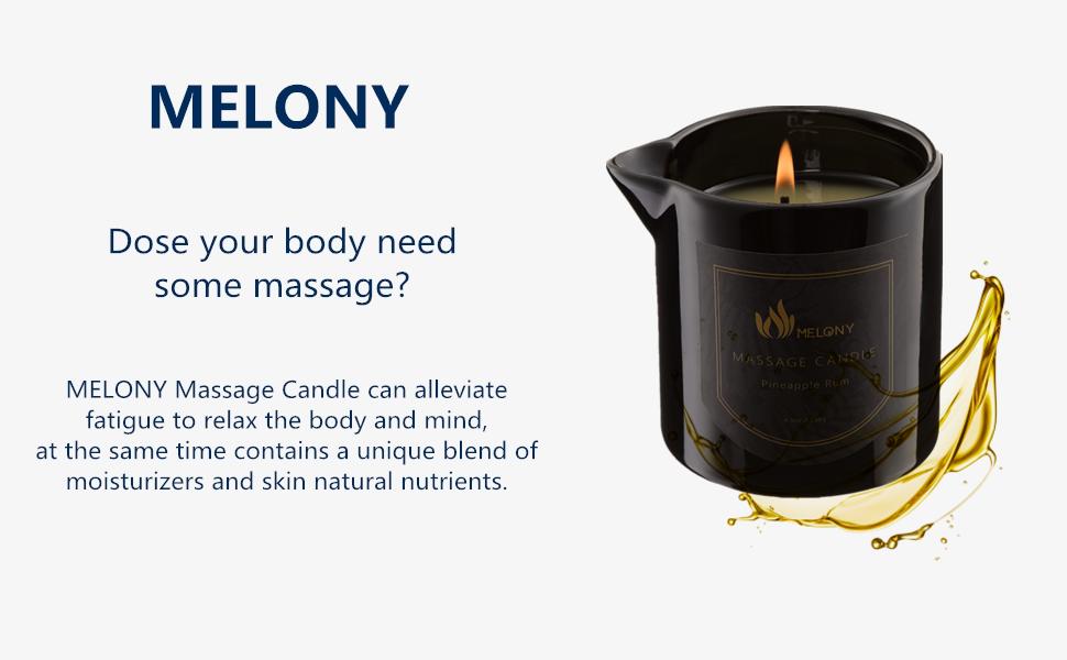 MELONY Massage Candle