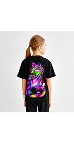 Cat shirts for girls girls cat shirts 3d animal shirts boys cat shirts