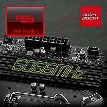 XMP Profile 5066MHz max RAM speed fast RAM