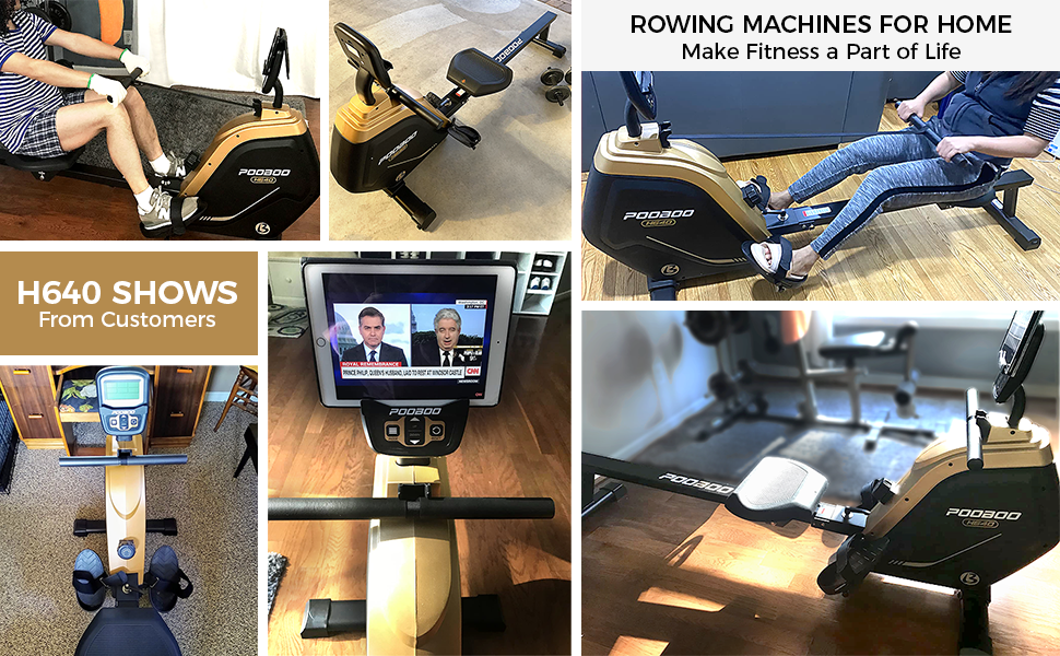 rowing machines for home