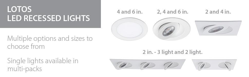 WAC Lighting, LED, Lotos, Recessed Lights