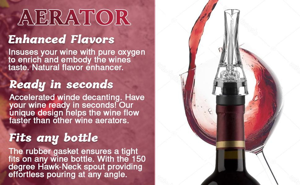 sprayer glasses cork genius aervana cartridges machine vinturi sets mothers ullo chiller stick cub