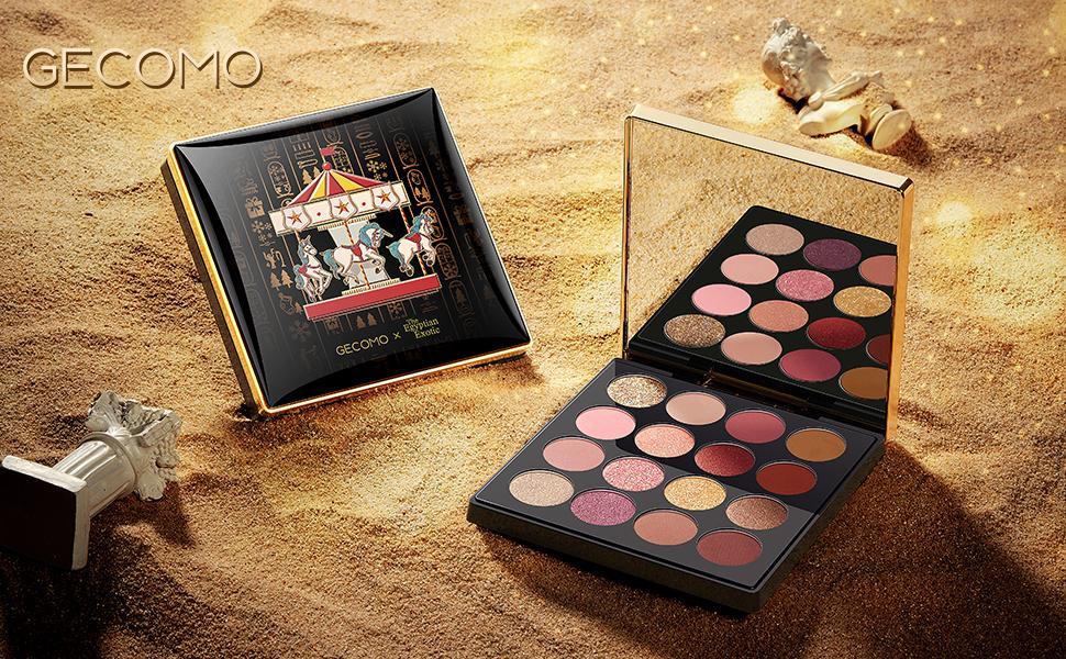 GECOMO Exquisite Eyeshadow Palette