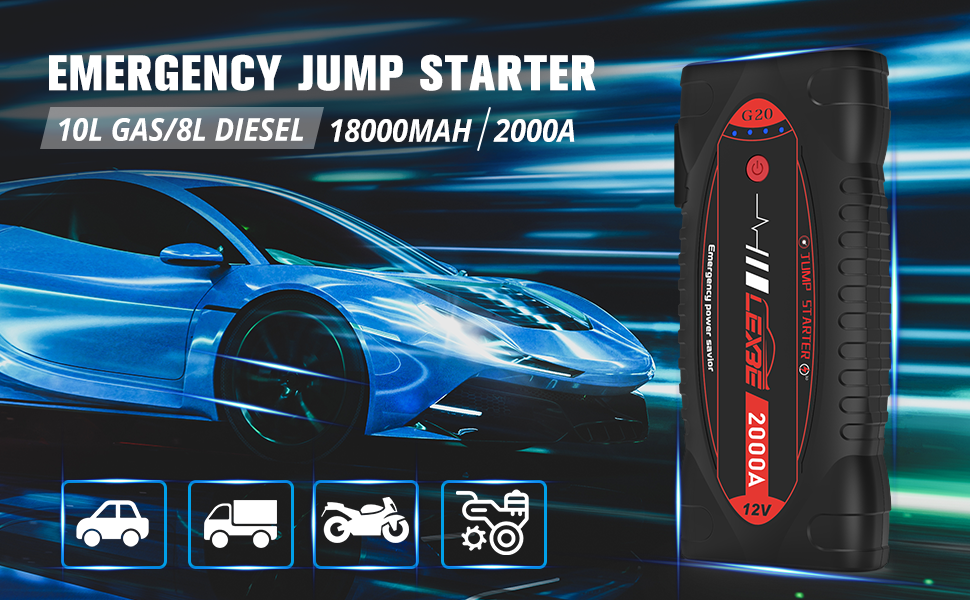 jump starters  battery chargers
