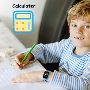 Smart watch for calculator