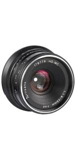 7artisans 25mm F1.8 Lens
