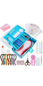 Blue Basic Quilling Kits