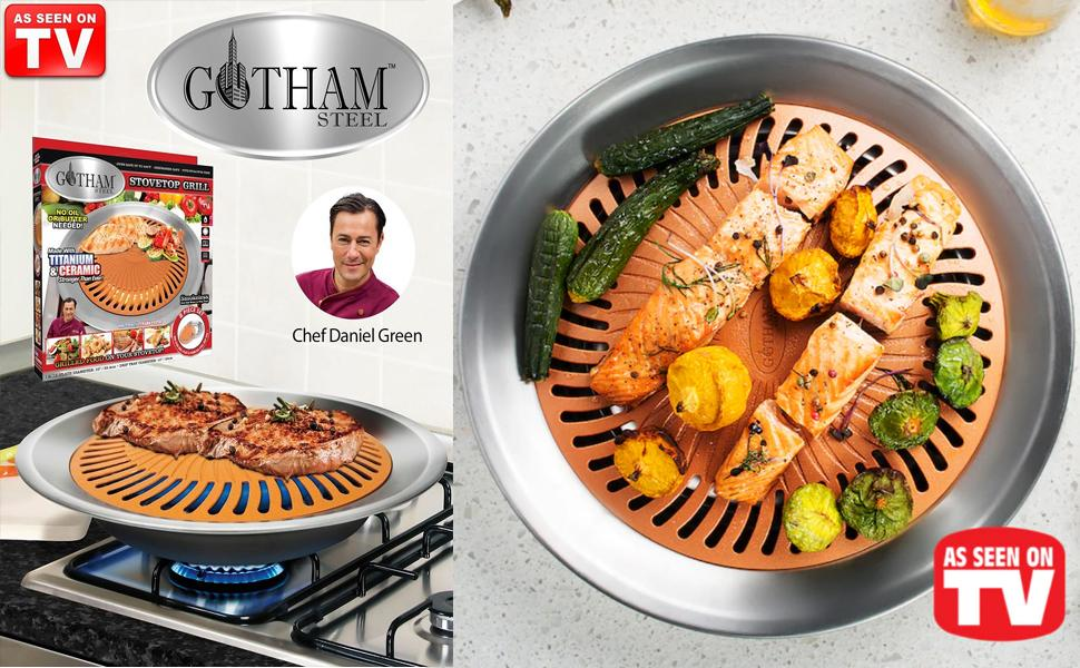 nonstick stovetop grill, ceramic stovetop grill