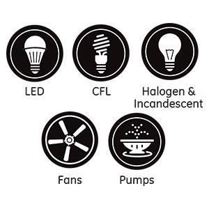 zwave smart switch compatible lights bulbs lighting fans pumps