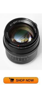50mm f1.2 camera lens