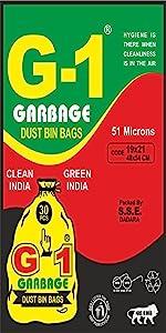 Medium Size Black Colored Garbage Bags