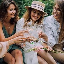 wine glass charm for wedding